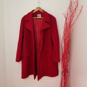 Hilary Radley | Pink Button Front Coat
